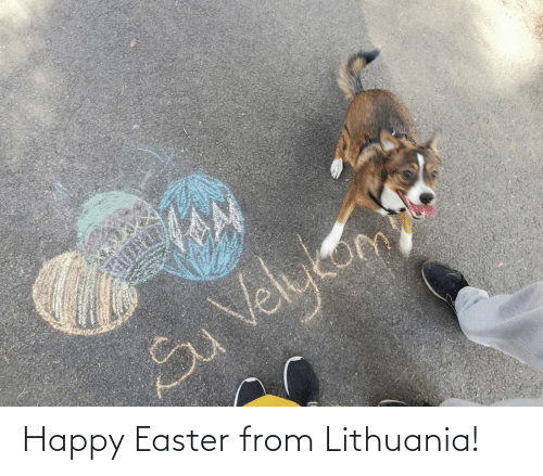 Lithuania: Happy Easter from Lithuania!