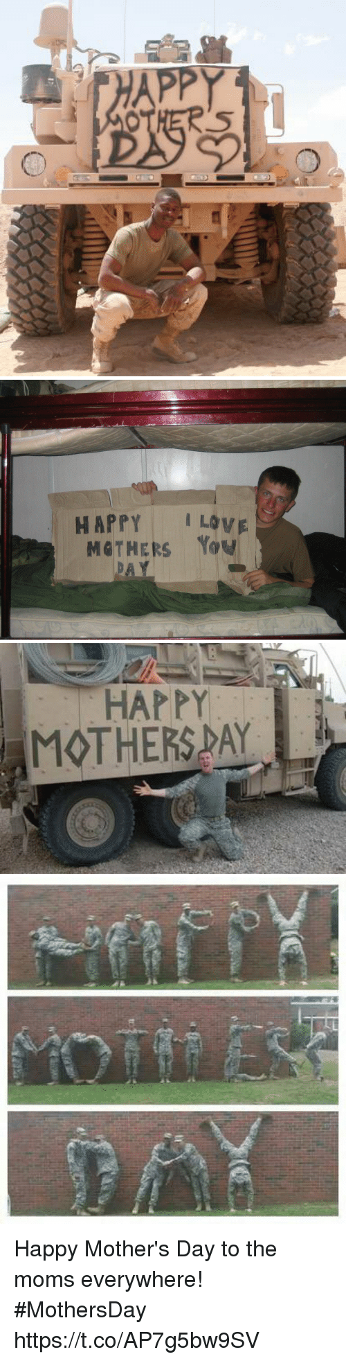 Memes, Moms, and Mother's Day: HAPPY ILOVE   HAPPY  MOTHERSPAY Happy Mother's Day to the moms everywhere! #MothersDay https://t.co/AP7g5bw9SV