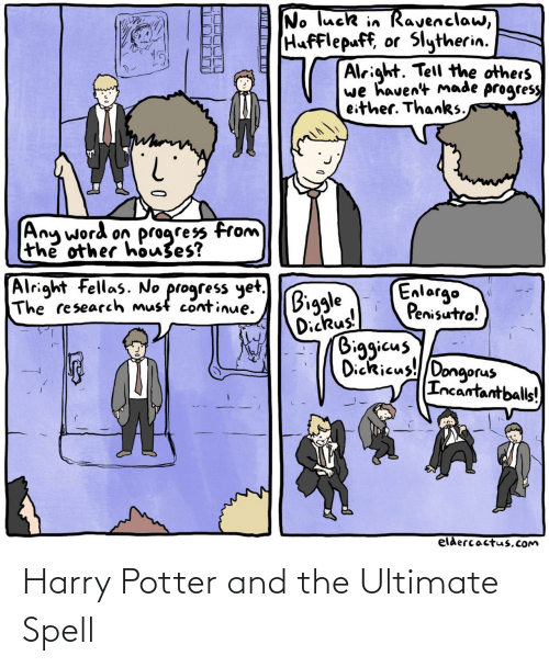 Harry Potter: Harry Potter and the Ultimate Spell