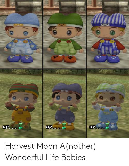 Nother: Harvest Moon A(nother) Wonderful Life Babies