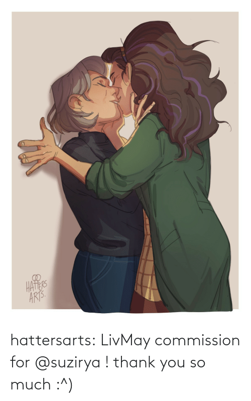 Commission: hattersarts:  LivMay commission for @suzirya ! thank you so much :^)