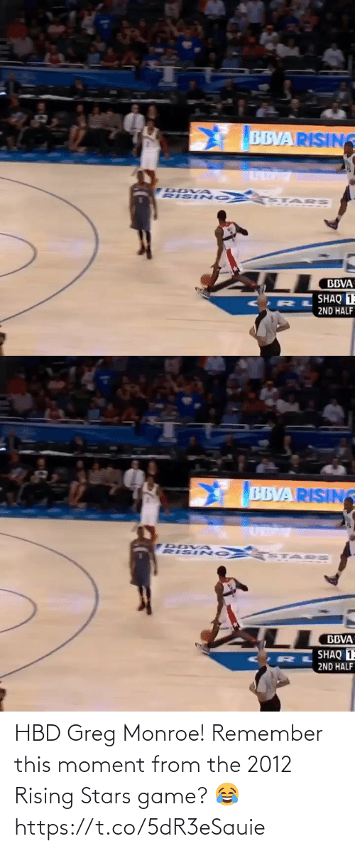 remember: HBD Greg Monroe! Remember this moment from the 2012 Rising Stars game? 😂 https://t.co/5dR3eSauie