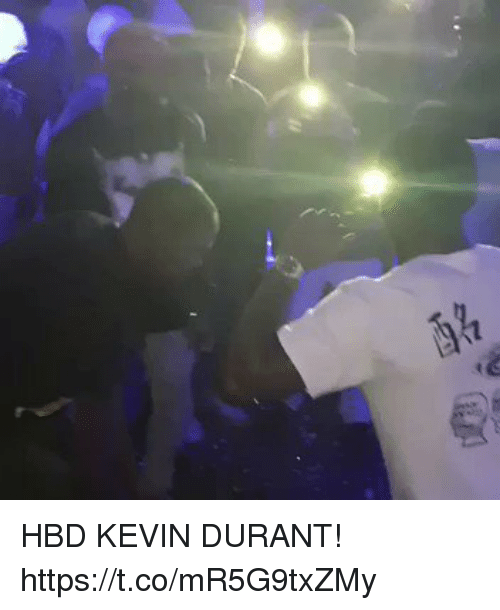 Kevin Durant, Memes, and 🤖: HBD KEVIN DURANT!  https://t.co/mR5G9txZMy