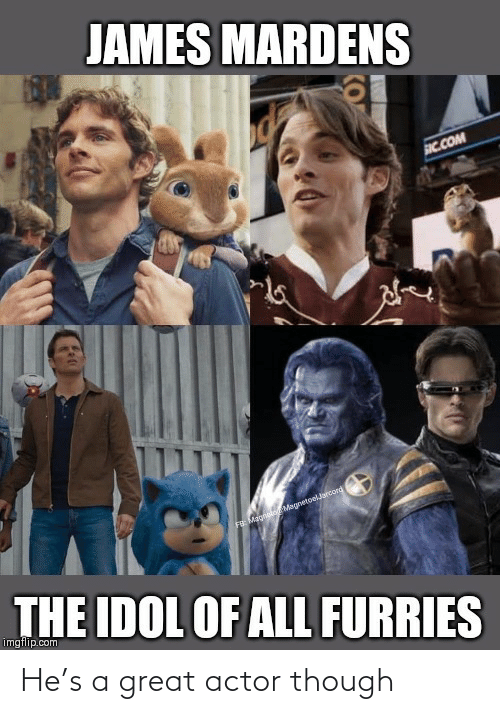 great: He's a great actor though