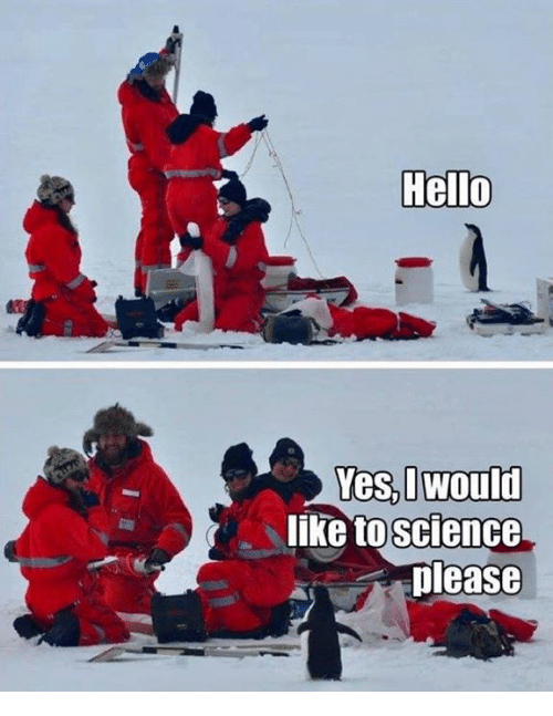 Dank, Hello, and Science: Hello  like to  science  please