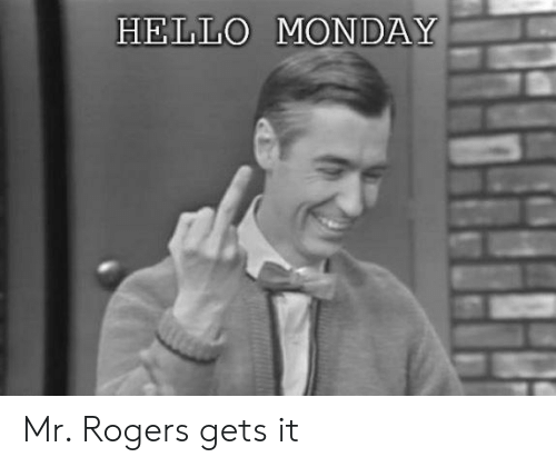 Mr Rogers and Mr Rogers Meme on Conservative Memes