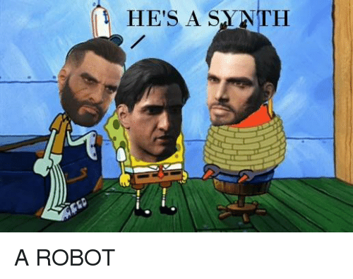 Dank, 🤖, and Anth: HE'S A SA ANTH A ROBOT