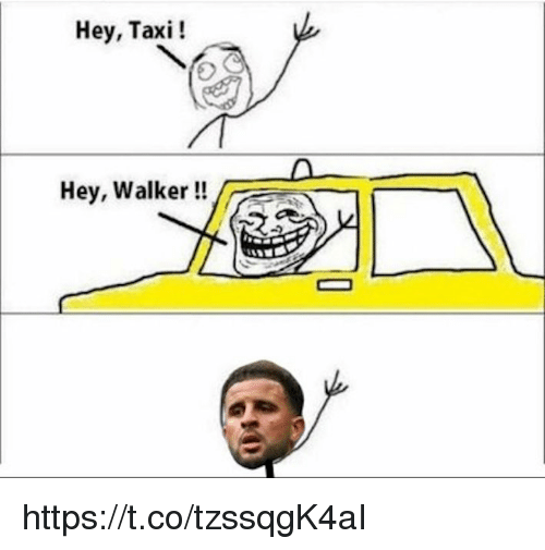 Memes, Taxi, and 🤖: Hey, Taxi!  Hey, Walker !! https://t.co/tzssqgK4aI