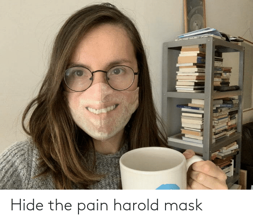hide: Hide the pain harold mask