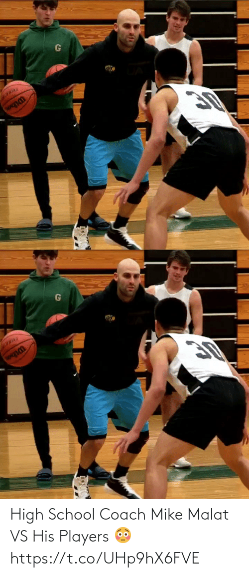 players: High School Coach Mike Malat VS His Players 😳 https://t.co/UHp9hX6FVE