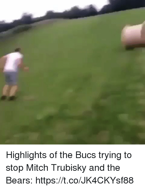 Sports, Bears, and Stop: Highlights of the Bucs trying to stop Mitch Trubisky and the Bears: https://t.co/JK4CKYsf88