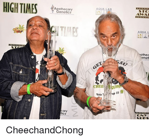 Memes, 🤖, and Sto: HIGHTIMES ter  AQUA LAB  STO  Apothecary  Genetics.  AQUA L  othed  eneti  AL!  CHEE  CHEECH  oP  Vote  ary  tics CheechandChong