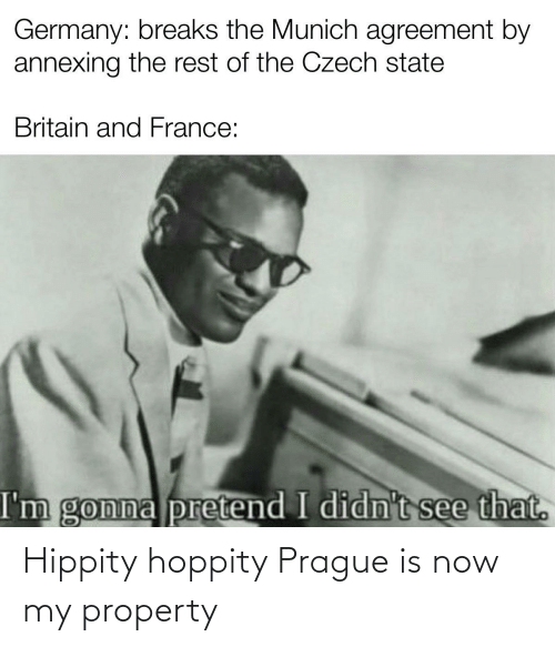 Prague: Hippity hoppity Prague is now my property