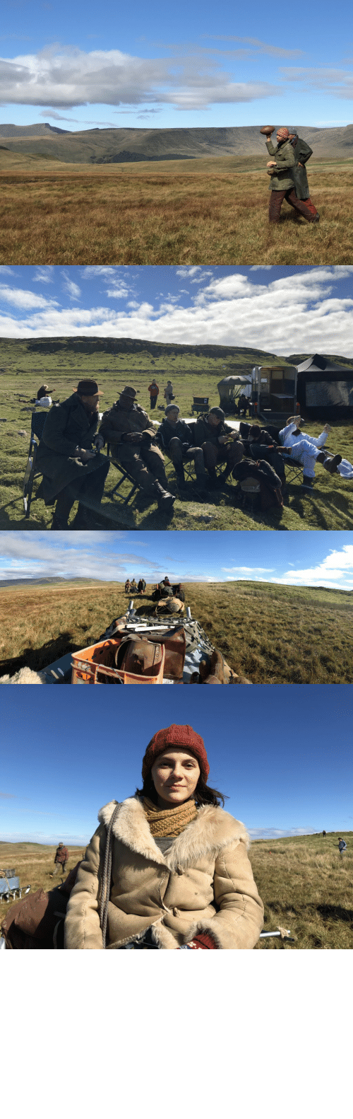 Behind The: #HisDarkMaterials Behind The Scenes Ep. 5 The Gyptians between camera setups, heading North https://t.co/qmY99TlWeN