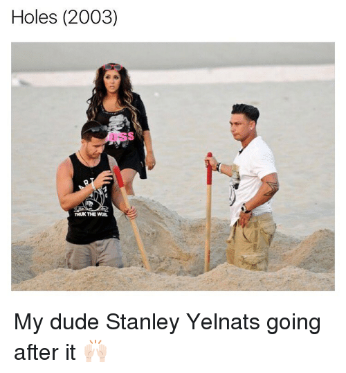 holes and stanley yelnats