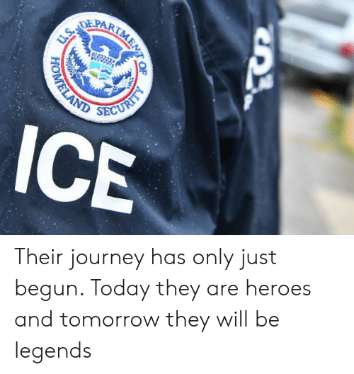 Journey, Heroes, and Today: HOM Their journey has only just begun. Today they are heroes and tomorrow they will be legends