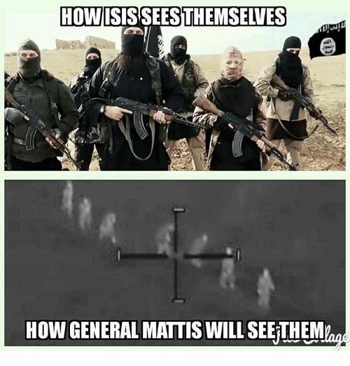 Memes, Generalization, and 🤖: HOW  HOW GENERAL MATTIS WILL SEEiTHEM