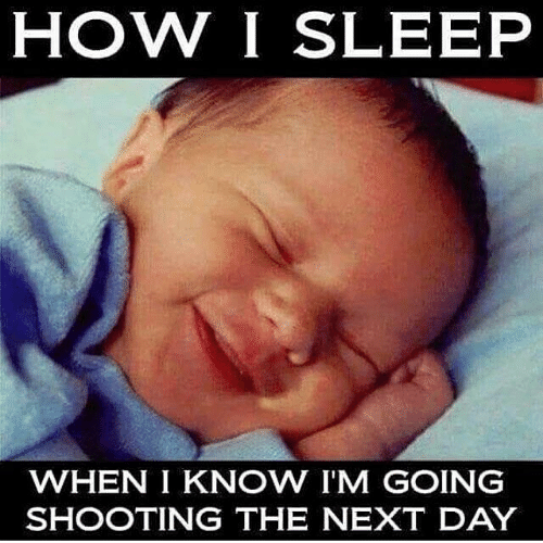 Conservative Memes: HOW I SLEEP  WHEN IKNOW I'M GOING  SHOOTING THE NEXT DAY