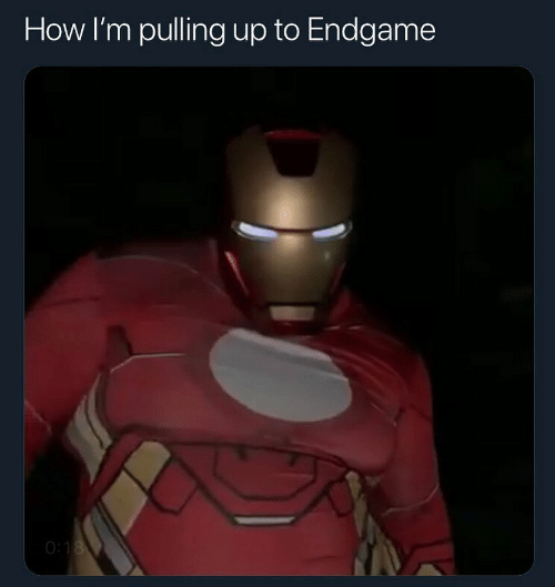 How, Endgame, and  Pulling: How I'm pulling up to Endgame  O: