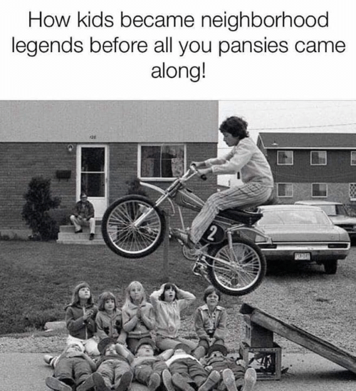 Dank, Kids, and Pansies: How kids became neighborhood  legends before all you pansies came  along!