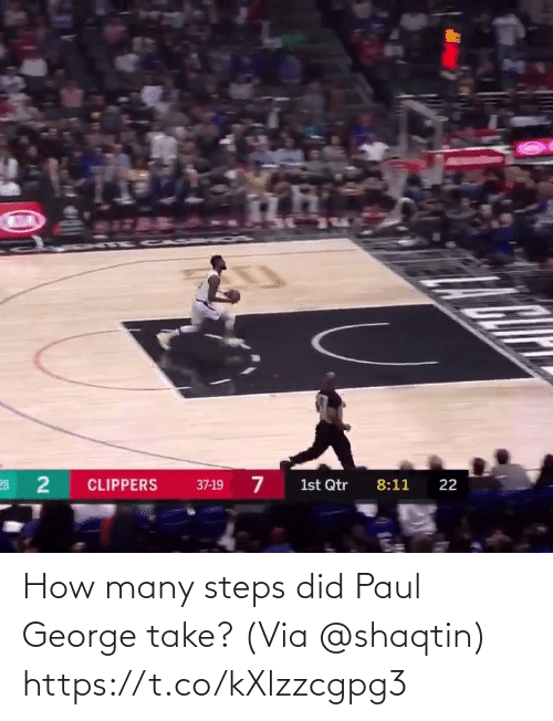 How Many: How many steps did Paul George take?  (Via @shaqtin)  https://t.co/kXlzzcgpg3