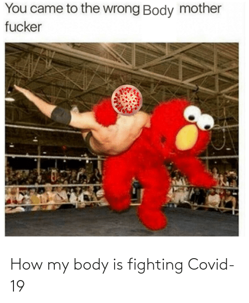 my body: How my body is fighting Covid-19