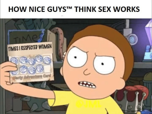 Sex, Women, and Nice: HOW NICE GUYSTM THINK SEX WORKS  TIMES I RESPECTED WOMEN