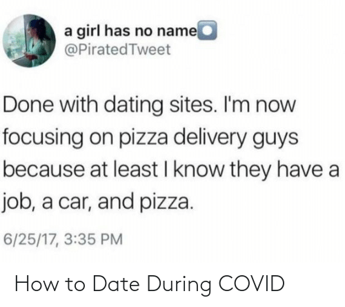 Date: How to Date During COVID