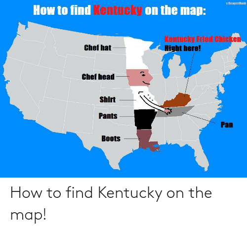 How To: How to find Kentucky on the map!
