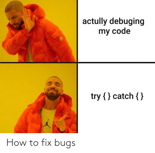 bugs: How to fix bugs