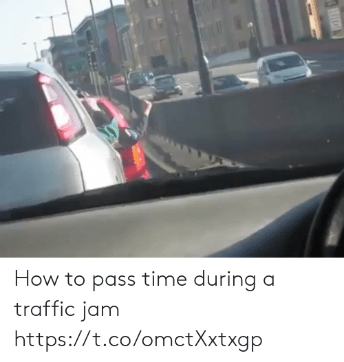 Sizzle: How to pass time during a traffic jam https://t.co/omctXxtxgp