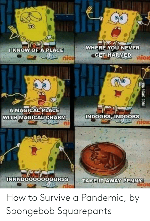 SpongeBob: How to Survive a Pandemic, by Spongebob Squarepants