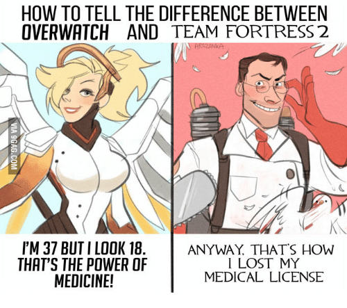 HOW TO TELL THE DIFFERENCE BETWEEN OVERWATCH AND TEAM