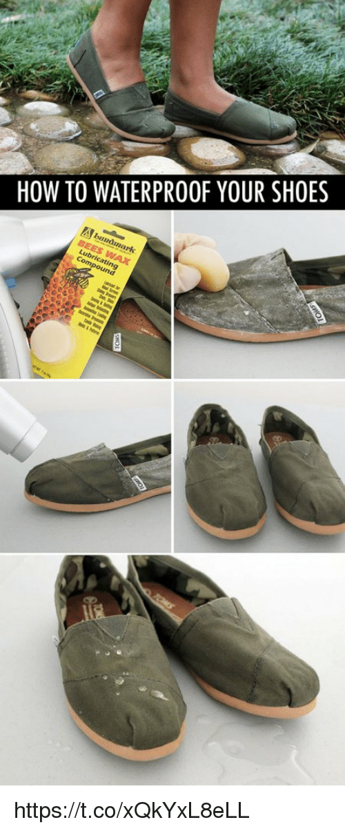 inane: HOW TO WATERPROOF YOUR SHOES  Inan  una https://t.co/xQkYxL8eLL