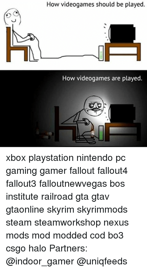 How Videogames Should Be Played How Videogames Are Played Xbox