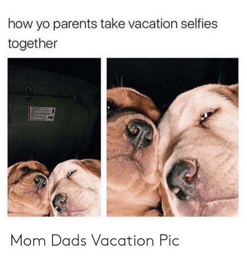 Dad, Parents, and Yo: how yo parents take vacation selfies  together Mom  Dads Vacation Pic