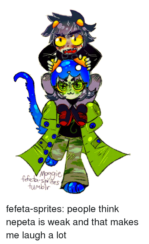 sprites: Humbir fefeta-sprites:  people think nepeta is weak and that makes me laugh a lot