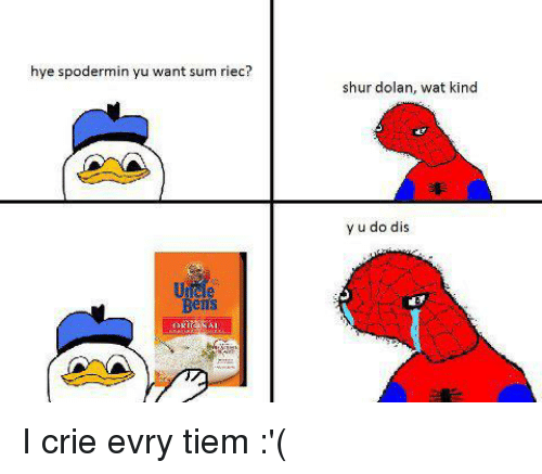 Uncle bens rice roblox