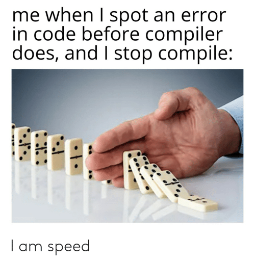 speed: I am speed