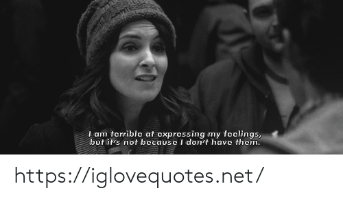 Net, Href, and Terrible: I am terrible at expressing my feclings,  but it's not becausc I don't have thcm. https://iglovequotes.net/
