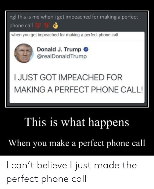 Phone: I can't believe I just made the perfect phone call
