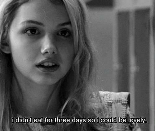 for-three: i didnit eat for three days so i could be lovely