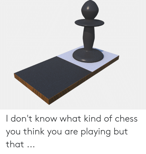 Four Dimensional Chess: I don't know what kind of chess you think you are playing but that ...