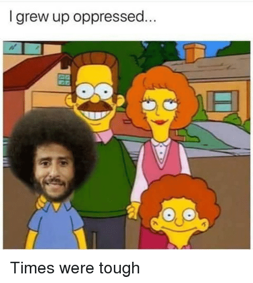 Memes, Tough, and 🤖: I grew up oppressed. Times were tough