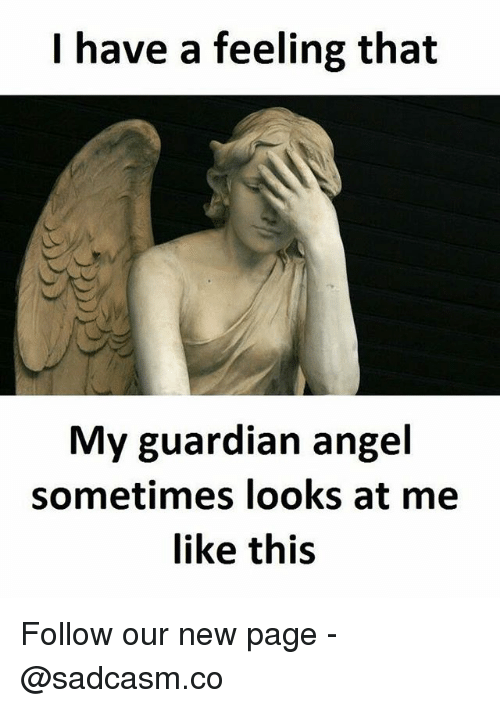 My guardian angel looks like this
