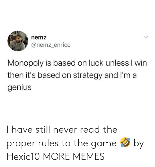 Dank, Memes, and Target: I have still never read the proper rules to the game 🤣 by Hexic10 MORE MEMES