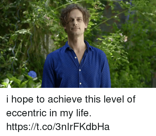Life, Girl Memes, and Hope: i hope to achieve this level of eccentric in my life. https://t.co/3nIrFKdbHa