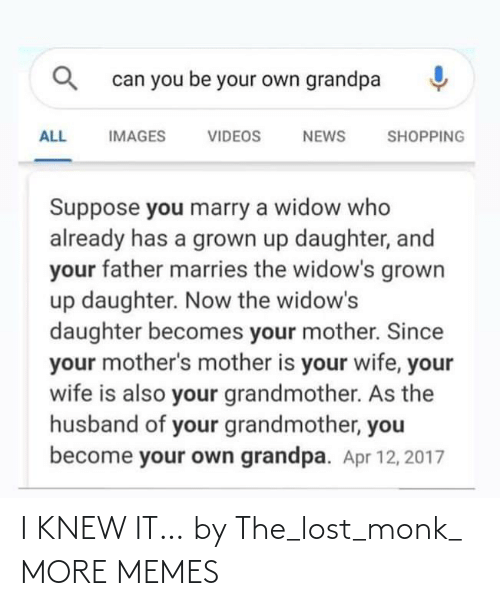 knew: I KNEW IT… by The_lost_monk_ MORE MEMES