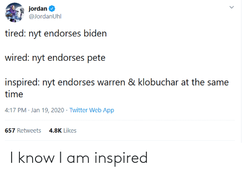 Conservative Memes: I know I am inspired