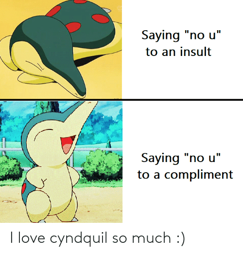 Love: I love cyndquil so much :)